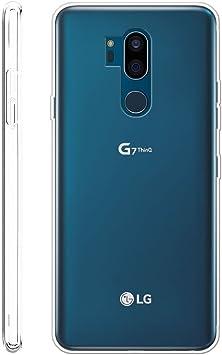 LJSM Funda LG G7 ThinQ Transparente Carcasa Flexible Ultra Slim ...