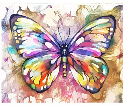 Jigsaw Puzzles 1000 Piece Wooden Puzzle DIY Butterfly Picture Game Toy Home Decoration Art ()