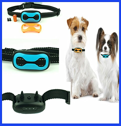 Classic 681-VB (VIBRATION) No Bark Dog Collar ( Small Dogs 8lbs to 130lbs) Bark Training Solution. Best Anti Bark Collar (New Arrival 2017) 100% Lifetime Product Warranty