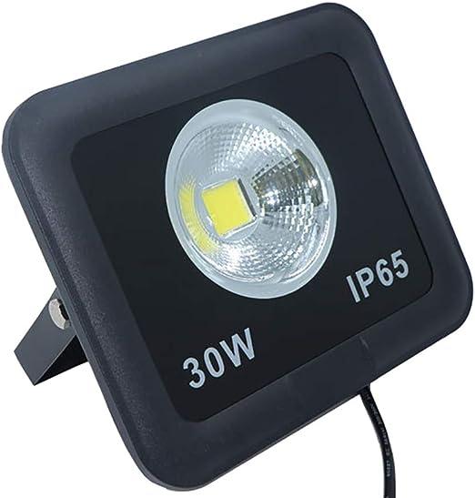 Proyector de Exterior LED 30W Reflector Impermeable al Aire Libre ...