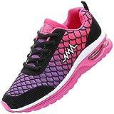 JARLIF Women's Fashion Sneakers Lightweight Sport Gym Jogging Air Cushion Athletic Tennis Running Shoes Purple 7 B(M) US