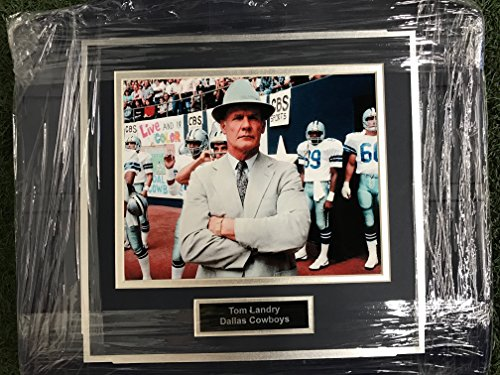 (Dallas Cowboys Tom Landry Image Photo Texas Stadium Seat Bottom UNIQUE)