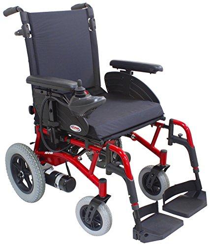 FORZA FREEDOM Aluminium Folding Electric Wheelchair (Black)