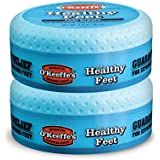 O'Keeffe's for Healthy Feet Foot Cream, 3.2 oz, Jar, (Pack of 2)
