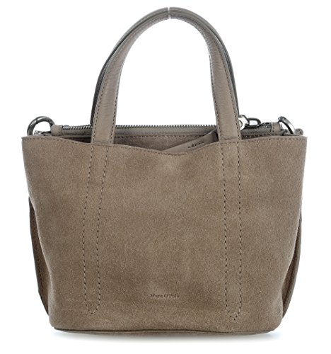 Marc O'Polo Nine Bolso de mano piel 26 cm grey_light grey, grau