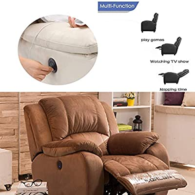 Amazon.com: podoy Power Sillón Reclinable Ronda Switch Brazo ...