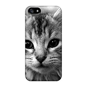 Ultra Slim Fit Hard AniamlCaseZone Case Cover Specially Made For Iphone 5/5s- I'm A Lion