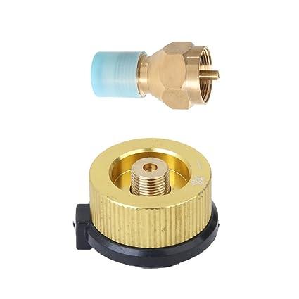 monkeyjack propano adaptador de recarga gas Depósito de cilindro acoplador calefactor con conector estufa al aire