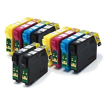 T1285 + T1281 / E-1285 + E-1281 -10 Cartuchos de tinta ...