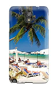 Galaxy Note 3 Thailand Holidays Beach Print High Quality Tpu Gel Frame Case Cover
