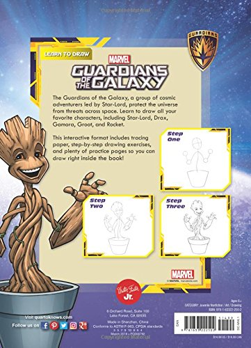 Learn To Draw Marvel Guardians Of The Galaxy How To Draw Your