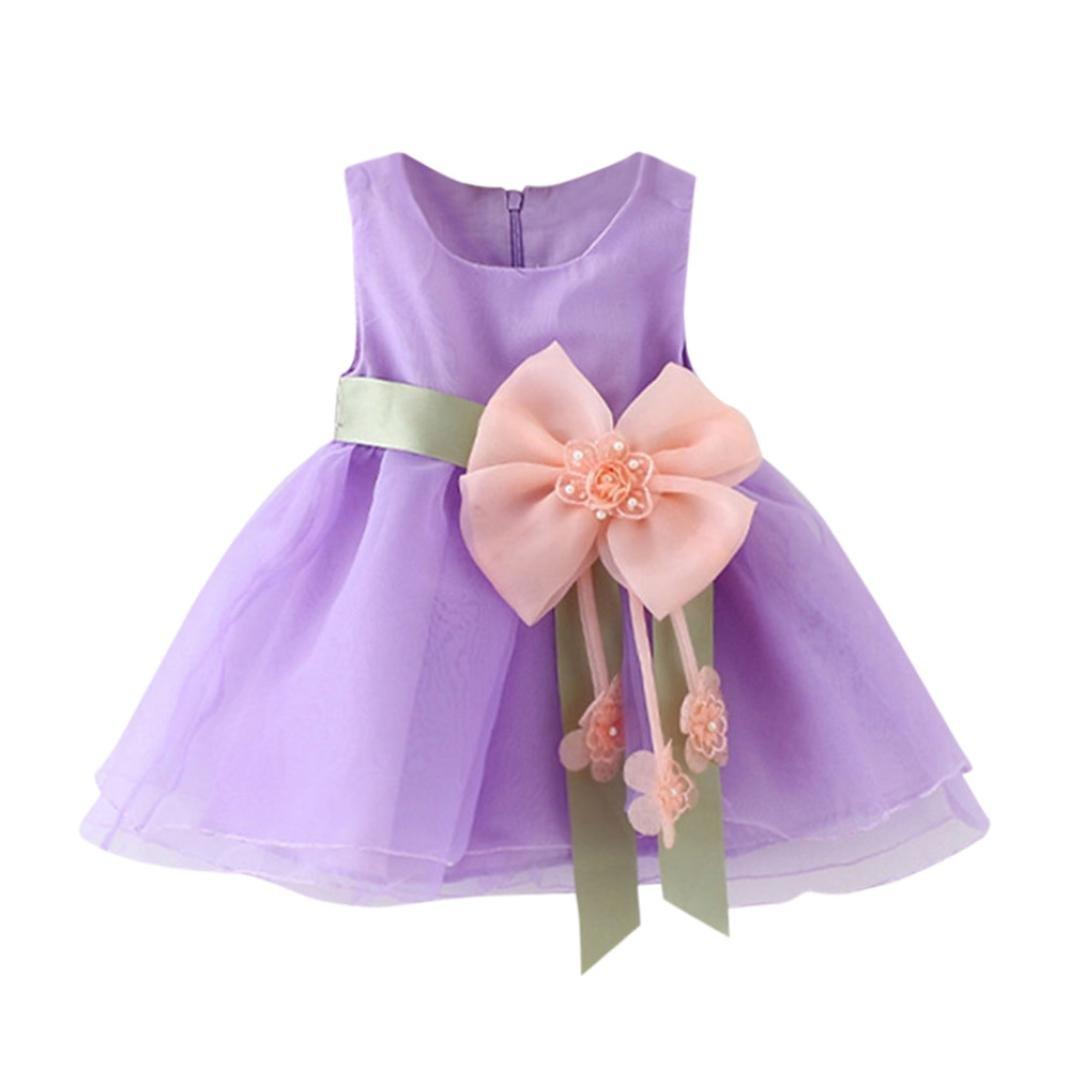 K-youth Vestido Bebé Niña Vestido de princesa Niña Tutú Princesa ...