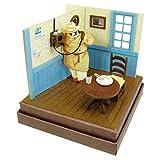 Miniatuart Kit Studio Ghibli mini Porco Rosso Porco on the Phone Complete Model Figure Sankei Animation Film Hayao Miyazaki