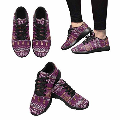 Scarpe Da Corsa Trail Running Donna Jogging Leggero Sportivo Da Passeggio Sneaker Atletico Aztec Doodle Multi 1