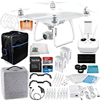 DJI Phantom 4 Advanced Quadcopter EVERYTHING YOU NEED Essential Bundle