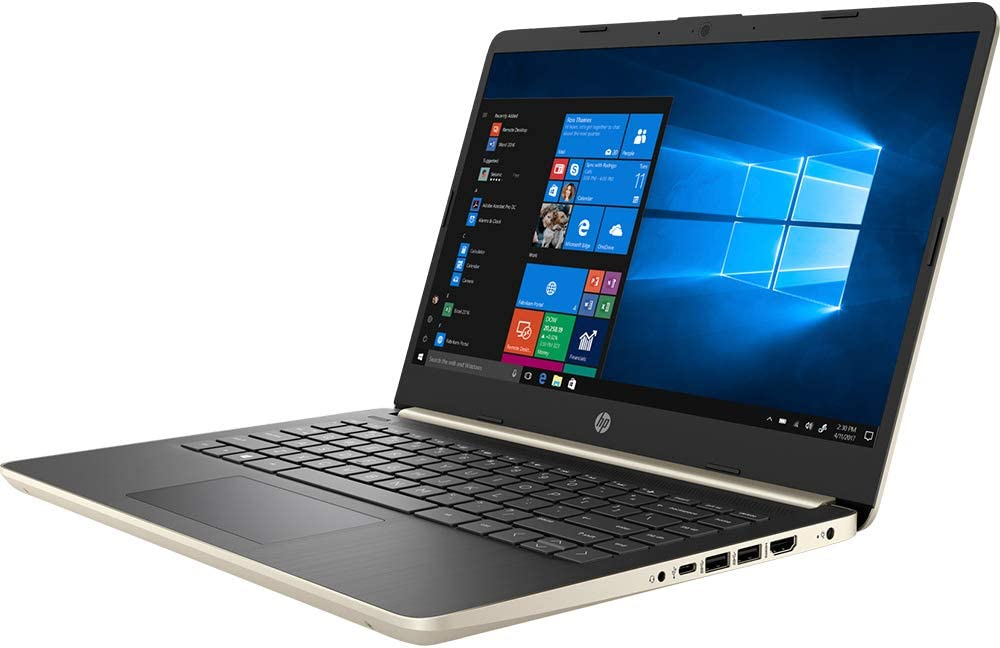 "HP 14"" Touchscreen Laptop 12GB RAM, 256GB SSD, 8th Gen i3 HD Business Notebook, Dual-Core up to 3.90 GHZ Processor, USB Type-C, 1366x768, UHD 620 Graphic, HDMI, Bluetooth, Webcam, Energy Star, Win 10"