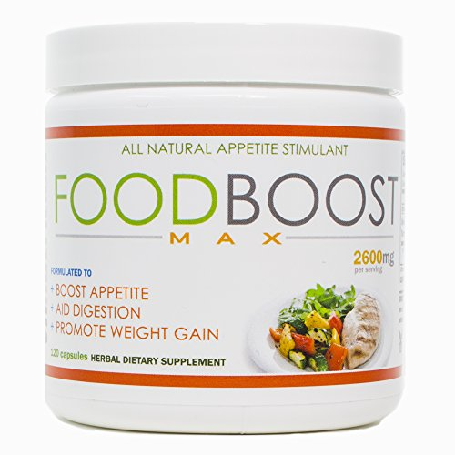 VH Nutrition | FoodBoost MAX | Appetite Stimulant for Men and Women | Natural Weight Gain Pills - 30 Day Supply - 120 ()