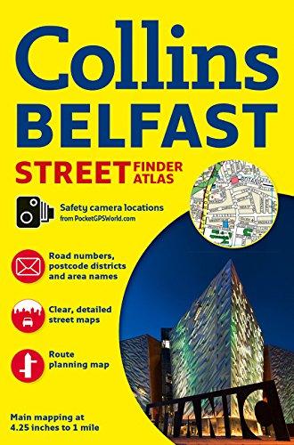(Collins Belfast Streetfinder Atlas)