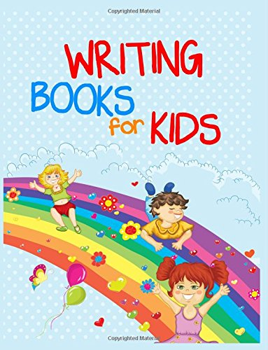 Writing Books For Kids: 8.5 x 11, 108 Lined Pages (diary, notebook, journal, workbook)