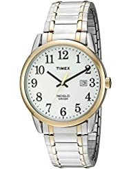 Timex Mens TW2P81400 Easy Reader Two-Tone Stainless Steel Expansion Band Watch