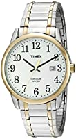 Timex Men's TW2P81400 Easy Reader Two-Tone Stainless Steel Expansion Band Watch