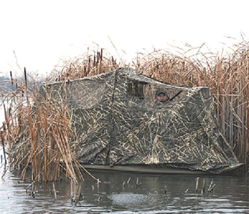 Series 400079 Stealth Max-4 Duck Hunting Boat Blind ()