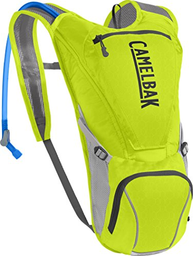 CamelBak Rogue Crux Reservoir Hydration Pack, Lime Punch/Silver, 2.5 Large/85 Oz ()