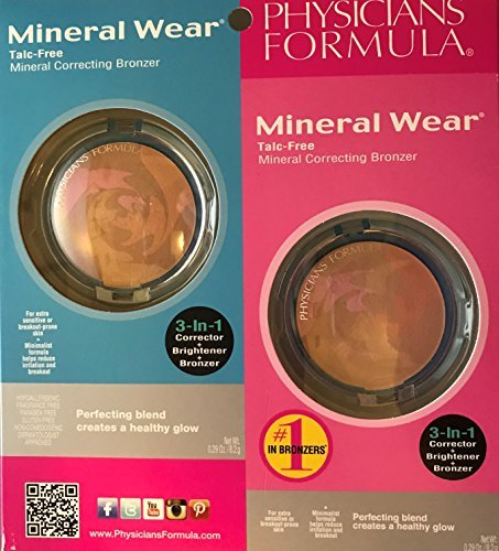 Physicians Formula Talc-Free Mineral Correcting Bronzer Dual Pack