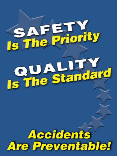 Workplace Safety Posters - Accuform Signs PST104 Safety Awareness Poster,