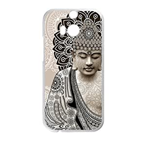 Canting_Good Buddhal Custom Case Shell Cover for HTC One M8 (Laser Technology)