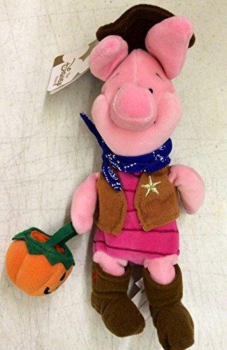 Disney Store Mini Bean Bag Winnie The Pooh Cowboy Piglet 8