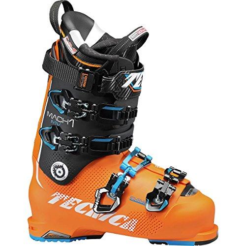 Tecnica Mach 1 130 MV Ski Boots - 28.5/Orange-Black