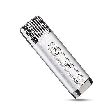 gomeir Mini Personal Portátil Karaoke KTV Micrófono funda para PRO Karaoke dinámico para PC, portátil