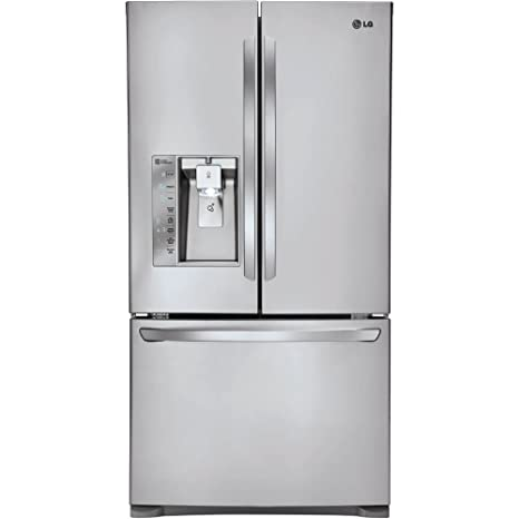 lg reviews refrigerator counter marvellous depth french flex door