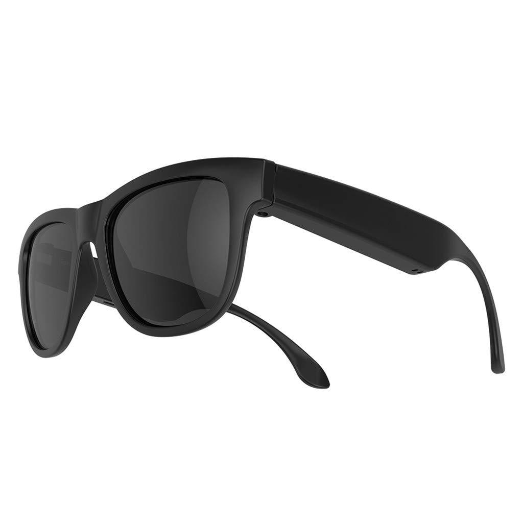 1KTon Smart Glasses Blueteeth Polarized Sunglasses SmartTouch Headphone Headset New by 1KTon