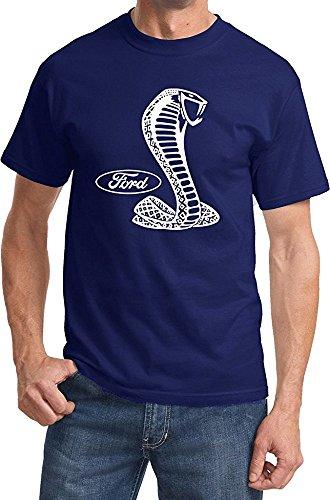 -Shirt Men's Ford Clothing Tee Shirt, Navy Blue, Medium ()