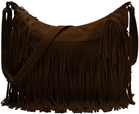 Womens Round Crossbody Bag Hippy L Love Music Crossbody Purse PU Leather Zipper Shoulder Bag