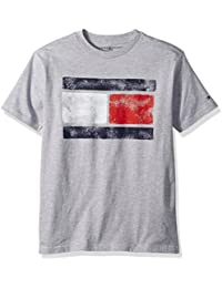 Boys' Short Sleeve Tommy Flag Tee