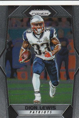 2017 Panini Prizm  126 Dion Lewis New England Patriots Football Card