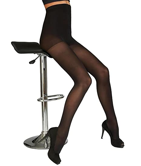 ed98889e8630f DKNY Womens Opaque Coverage Control Top Tights High Rise Plus Petite ...