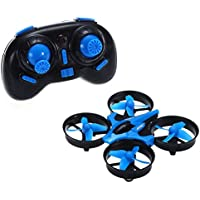 Qsmily JJRC H36 Mini Drone 2.4G 4CH 6Axis Gyro Headless Mode RC Quadcopter with 360-degree Flip One Key Return