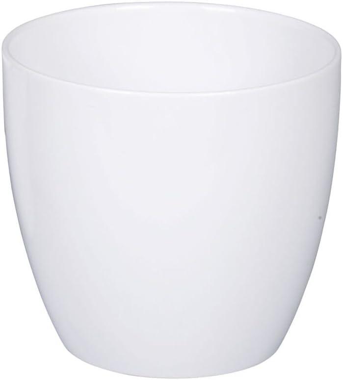 Scheurich /Übertopf 883/anthrazit Keramik grau 22/cm