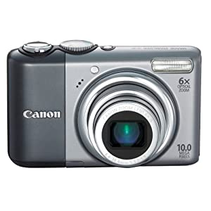 Canon Powershot A2000IS 10MP Digital Camera with 6x Optical Image Stabilized Zoom