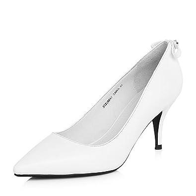 pourtant pas vulgaire magasin officiel mode la plus désirable Ladys Retro Pompes Parti Stiletto Pointu Chaussures Lady ...