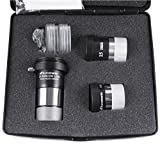Astromania Accessory Kit Telescope Fully-coated Eyepieces - A Useful Set of Accessories For The Newcomer To Astronomy with High performance-price Ratio