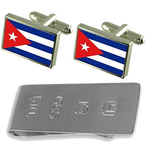 amp; Cuba James Cufflinks Money Flag Flag Cufflinks Cuba Clip Bond F4x6vv