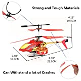RC Helicopter 4 Channel Infrared RC Heli with Gyro Remote Control Helicopter Best Birthday Christmas Festival Gift for Boys Girls and Adults