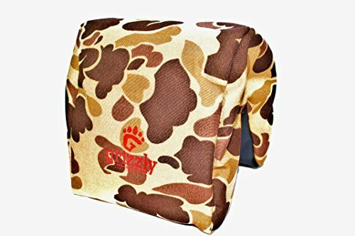 Grizzly Camera Bean Bag (LARGE-WILDERNESS CAMOUFLAGE) Photography & Video Bean Bag, Camera Support & Sandbag, Camera Beanbag Spotting Scope Support, Bean Bag Tripod, African Safari, Photography Tours (Camouflage Bean Bag)