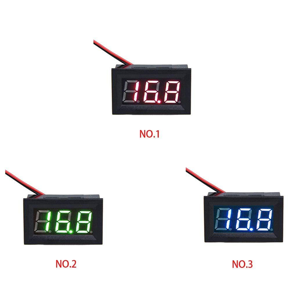 Morza AC220V LED Display Two-wire 0.56 inch AC 70-500V Digital Voltmeter Home Use Voltage Reader