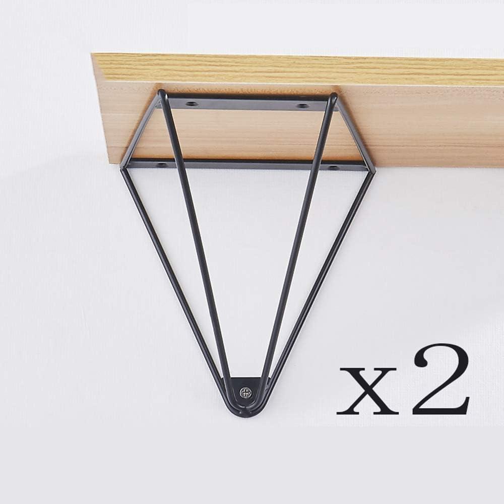 Soporte fijo MiJi AiAi Rack Wall de pared, soporte de estante, trípode de hierro, soporte de partición/marco de soporte, soporte triángulo/soporte, negro/blanco opcional